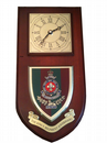 Kings Regiment Liverpool Military Wall Plaque Clock